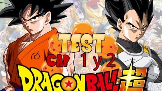 Realiza este divertido test para conocer cuanto sabes del capitulo 1 y 2 de Dragon ball Super.
