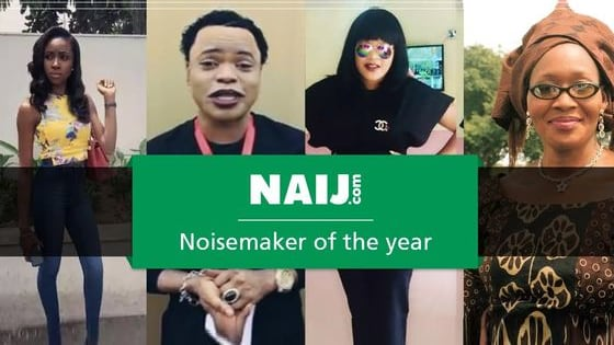 These nominees (Miss Anambra 2015, Bobrisky, Toyin Aimakhu and Kemi Olunloyo) were handpicked due to their activities in the year and what made them stay in the news right from the beginning of the year to the end.