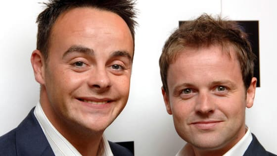 From these close-ups, can you guess who it is; Ant or Dec?