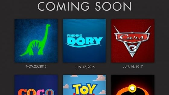 Earlier this year Disney Pixar Studios announced its 6 movie lineup from now until late 2017! Which movie are you most excited for?