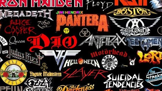 Can you guess the bands by their logo? Let's see how much of a metalhead you are! Click the logo that best matches each band.
