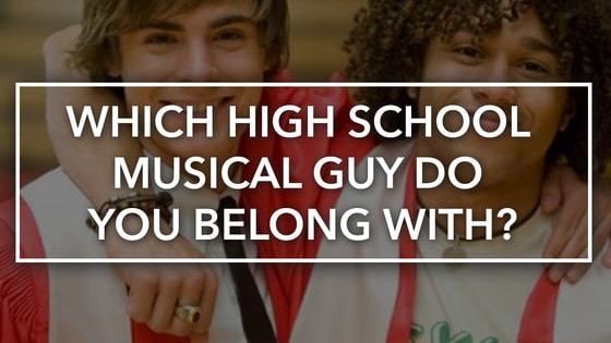 We can't ALL have Troy Bolton.