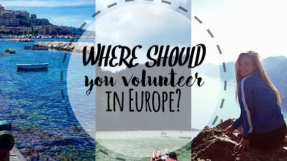 Planning a trip to Europe? Why not make it a volunteer trip!? Find out where you should volunteer in Europe...