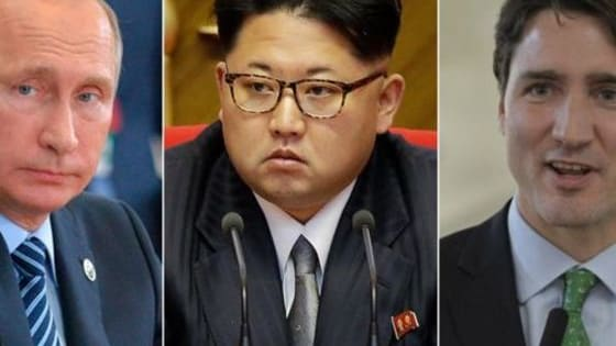 In this crazy world we live in, which leader are you? Is it Trump? Vladimir Putin? Bashar al-Assad? Kim Jong-un? Or is it the sexy Canadian Trudeau?
