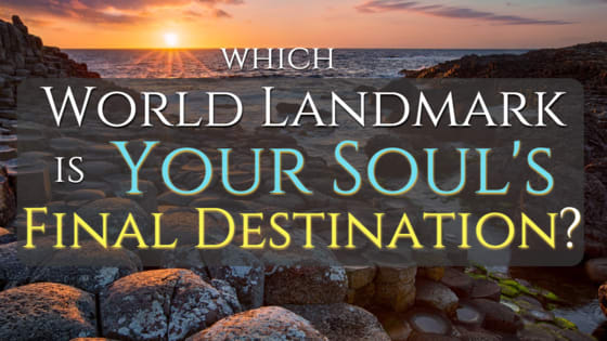 We're all destined to return to the Earth one day. Which of these unrivaled landmarks calls YOUR Soul home?