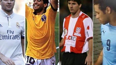 Gerrard, Maradona, Messi...