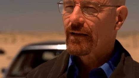My decision-making process at the poker table is pure like Walter White's recipe.