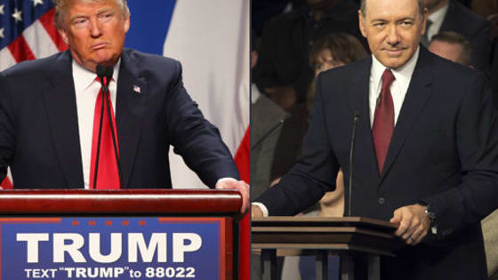 Donald Trump sounds eerily close to House of Cards' Frank Underwood. Can you tell their sentiments apart?