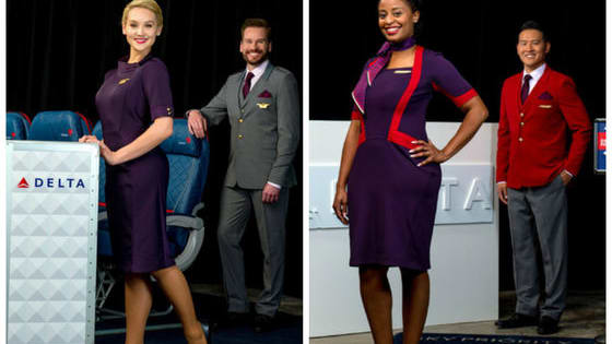 Delta Airlines uniforms are getting a fabulous face lift with a total overhaul from designer Zac Posen. What do you think of the new outfits?