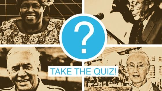 Take our quiz to find out which environmental trailblazer inspires your planet-saving style.