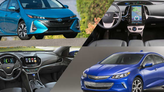 The Toyota Prius Prime and Chevrolet Volt are two of the best extended-range plug-in electric vehicles on the market. Which one would YOU rather own?