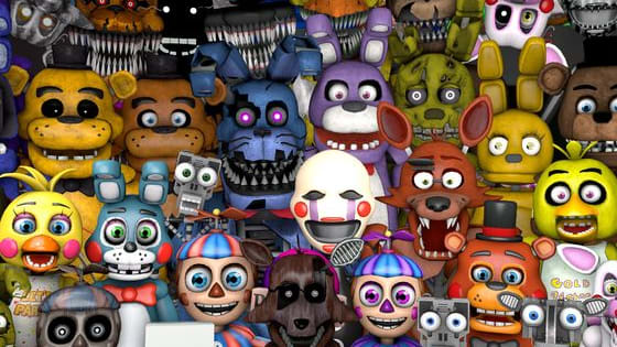 lets find out what fnaf character you are!