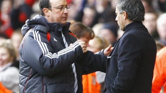 The glory days of Benitez v Mourinho. Can you name Liverpool's starting XI?