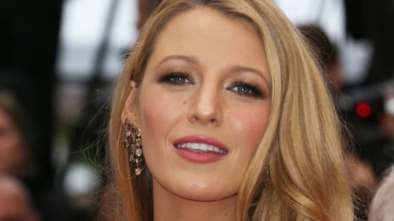 Blake Lively quote Sir Mix-A-Lot to caption a pic of her from Cannes.