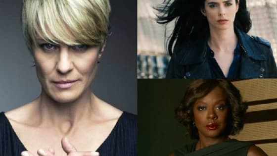 Television today is full of awesome women who kick serious ass. Which one are you?