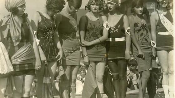 """1920s Bathing Suits vs. """"1920's Inspired"""" Bathing Suits"""