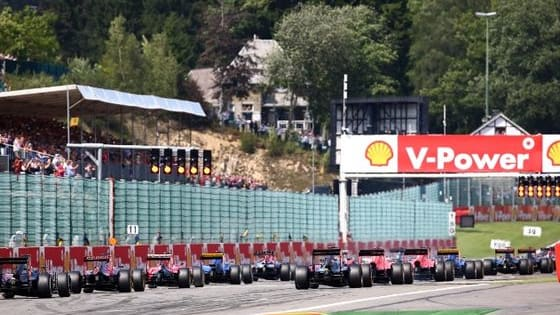 With the summer break coming to an end who is going to win at Spa?