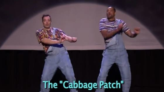 Check out this hilarious video of Jimmy Fallon and Will Smith dancing down memory lane.