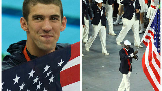 The now five-time Olympian has never gotten to walk in the Opening Ceremonies before, so why is he starting now and why hasn't he walked in the parade of athletes yet?