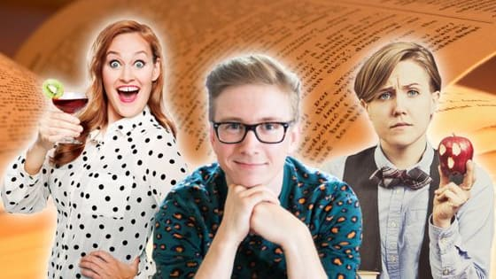 So many YouTuber books, so little time... But can you guess who wrote what?