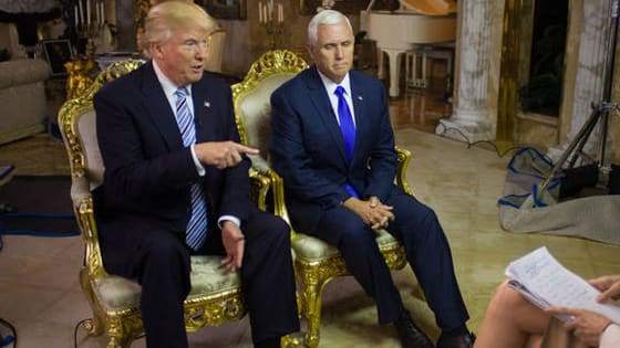 Donald Trump and Mike Pence didn't exactly nail their first interview together as running mates. Here are the 9 best quotes from the interview.