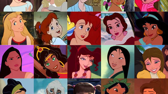 What disney female character fits you?
