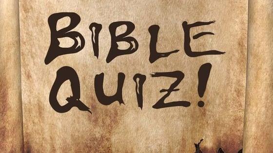 Examine your bible memorization skills.