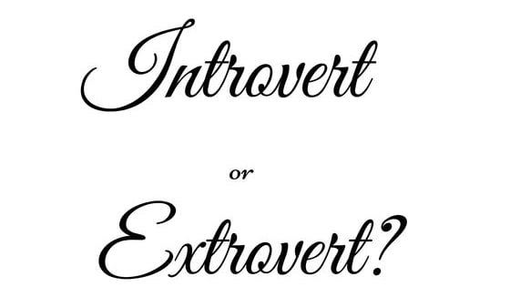 Take this quiz to find out if you are introverted or extroverted.