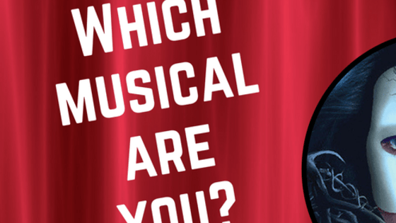 Come on hun, we're gonna paint the town... And all that jazz! It's time to find out which musical you actually are.  And if 'Phantom of the Opera' is up your alley then you DEFINITELY need to check out A. G. Howard's 'Roseblood'.