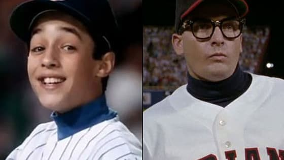 Name the characters from Major League and Rookie of the Year