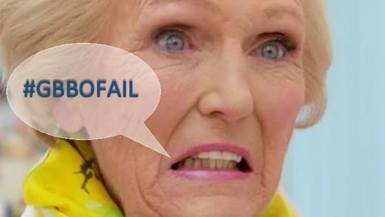 Do you remember the biggest disasters of the Great British Bake Off?