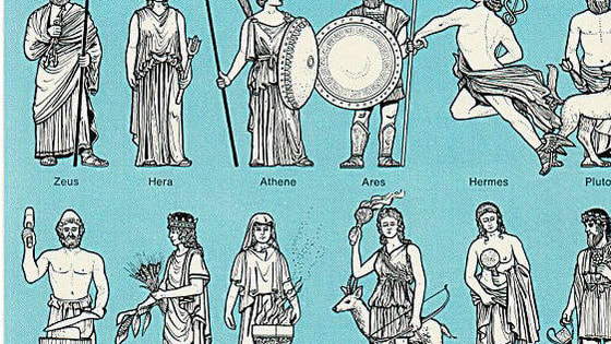 figure out which Greek God are you! *we know that not ll of them are here :(