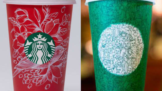 Since Starbucks just released 2 very different styles of holiday cups, we have to ask: which do you prefer?