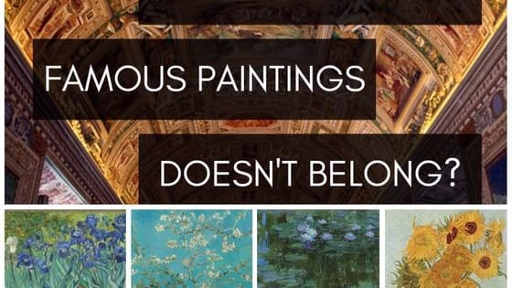 Pick the painting in each group that wasn't created by the same artist as the others, and you definitely have what it takes to slay the art history game! Test yourself here!