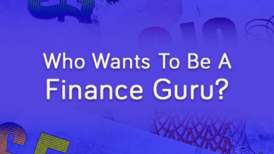 Take this short quiz to find out if you're actually clueless, a finance geek or a finance guru when it comes to student finance!