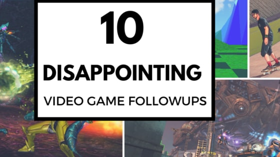 Video game sequels are just something that are expected if a title sells even moderately well. The problem often is, is that developers are under so much pressure for a followup that things sometimes get a little FUBAR during a rushed development. This list features 10 instances of disappointing video game followups. The first image will be the game in question and then followed by the previous entry in the core series for comparison.