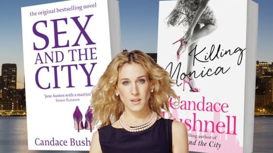 Are these quotes from the bestselling Sex and the City book or Candace Bushnell's new scandalous sensation, Killing Monica?