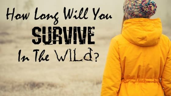 Find out if you have what it takes to survive alone in nature!