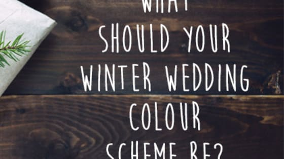 Winter is the new summer when it comes to getting married, but picking a colour scheme is a tough decision. So what which is the one for you? Is a traditional model perfect for your big day? Or are you more suited to a modern affair? Take the quiz to find out.