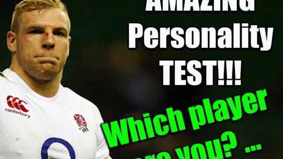 Have you ever wondered which Six Nations star you're most like? Take this short quiz to find out!