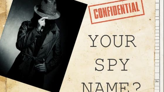 Thinking of taking on a life of secrecy and espionage? Begin your journey into the world of double agents by finding out your official spy name after you take this TOP-SECRET, SUPER OFFICIAL TEST.
