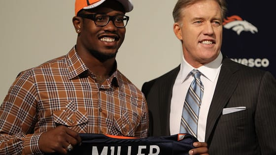 Who's to blame for the contract standoff between Von Miller and John Elway?