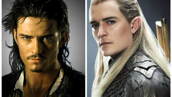 Only the ultimate Orlando Bloom fantasy fan will know the difference between his two most iconic characters. Will you?