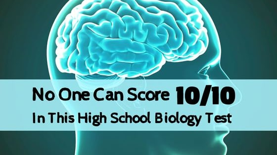 We gave this basic biology test to 100 high school students. 85% couldn't get more than 5/10 correctly, and only 4 got a perfect score. Think you can score better than the average? Give this one a go!!