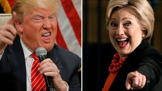 40% Trump or 60% Hillary? Find out what percent Hillary-Trump are you!