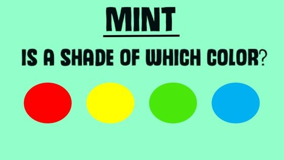 Can you recognize which color these shades originate from? Find out now!