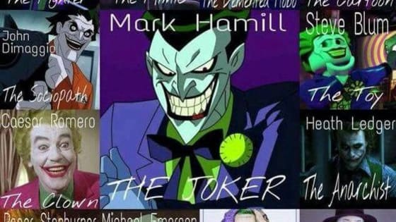 Ever wondered what movie take of the  Joker you are. Here you can find out, from the Cesar Romero Joker from the 60's to Jared Leto Joker from 2016.