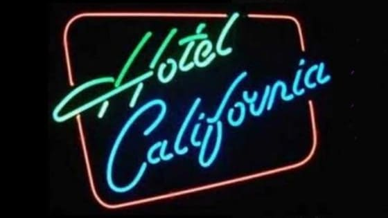 """Hotel California"" is considered a Classic Rock Masterpiece. The Lyrics were Written by the Late Glenn Frey and Don Henley with music by Don Felder. How Well Do You Know the Lyrics to Hotel California? Take the quiz challenge. Have fun!!! https.//www.facebook.com/NamethePlayer"