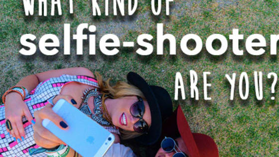 What does your kind of selfie photography reveal about your personality?