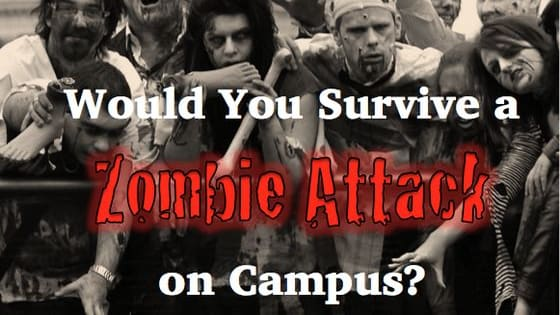 May is Zombie Awareness Month, which got us thinking...what would you do if your school were invaded by hordes of flesh-eating walkers? Good news: your finals would probably be canceled. Bad news: you may just end up undead. Take our quiz to find out your fate!